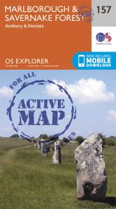 OS Explorer Active - 157 - Marlborough & Savernake Forest