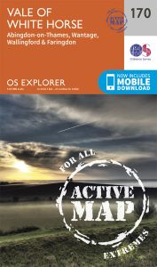 OS Explorer Active - 170 - Abingdon, Wantage & Vale of White Horse
