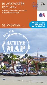 OS Explorer Active - 176 - Blackwater Estuary
