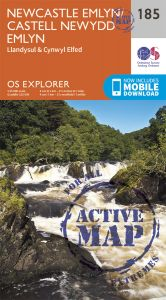 OS Explorer Active - 185 - Newcastle Emlyn