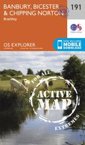 OS Explorer Active - 191 - Banbury, Bicester & Chipping Norton