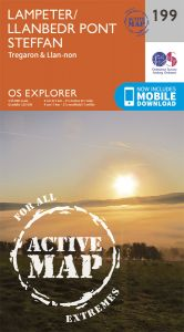 OS Explorer Active - 199 - Lampeter