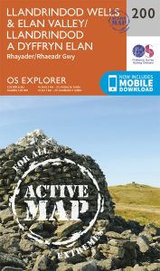 OS Explorer Active - 200 - Llandrindod Wells & Elan Valley