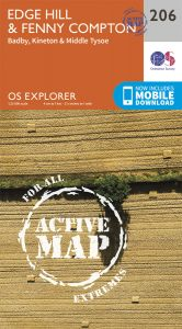 OS Explorer Active - 206 - Edge Hill & Fenny Compton