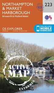 OS Explorer Active - 223 - Northampton & Market Harborough