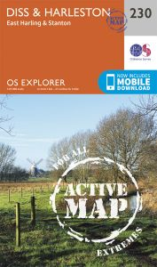 OS Explorer Active - 230 - Diss & Harleston