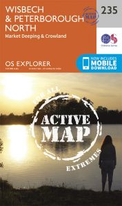 OS Explorer Active - 235 - Wisbech & Peterborough North