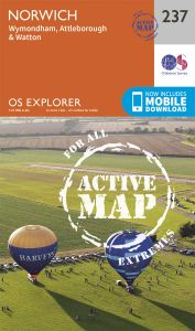 OS Explorer Active - 237 - Norwich