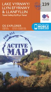 OS Explorer Active - 239 - Lake Vyrnwy & Llanfyllin