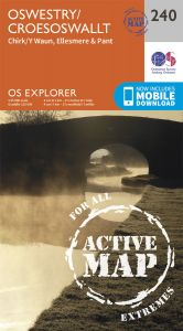 OS Explorer Active - 240 - Oswestry
