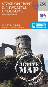 OS Explorer Active - 258 - Stoke-on-Trent & Newcastle-under Lyme
