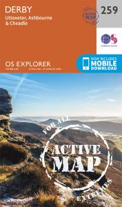 OS Explorer Active - 259 - Derby