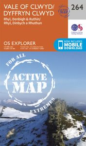 OS Explorer Active - 264 - Vale of Clwyd