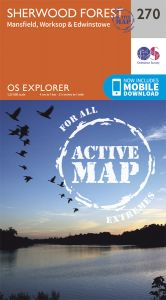 OS Explorer Active - 270 - Sherwood Forest