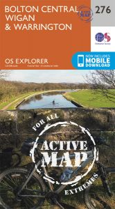 OS Explorer Active - 276 - Bolton, Wigan & Warrington
