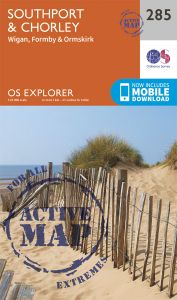 OS Explorer Active - 285 - Southport & Chorley
