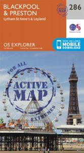OS Explorer Active - 286 - Blackpool & Preston