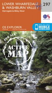 OS Explorer Active - 297 - Lower Wharfedale & Washburn Valley