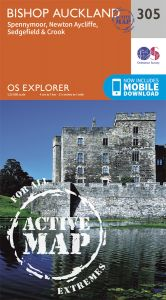 OS Explorer Active - 305 - Bishop Auckland