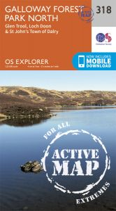 OS Explorer Active - 318 - Galloway Forest Park North