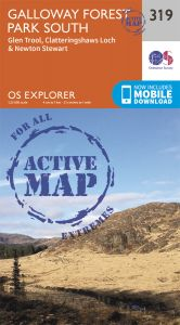 OS Explorer Active - 319 - Galloway Forest Park South