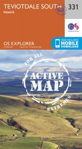 OS Explorer Active - 331 - Teviotdale South