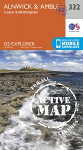 OS Explorer Active - 332 - Alnwick & Amble