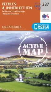 OS Explorer Active - 337 - Peebles & Interleithen