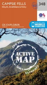 OS Explorer Active - 348 - Campsie Fells