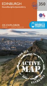OS Explorer Active - 350 - Edinburgh