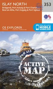 OS Explorer Active - 353 - Islay North