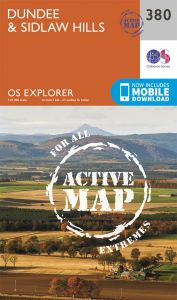 OS Explorer Active - 380 - Dundee & Sidlaw Hills