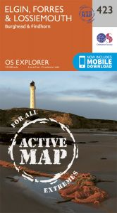 OS Explorer Active - 423 - Elgin, Forres & Lossiemouth