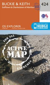 OS Explorer Active - 424 - Buckie & Keith