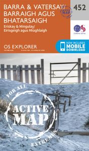 OS Explorer Active - 452 - Barra & Vatersay