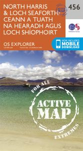 OS Explorer Active - 456 - North Harris & Loch Seaforth