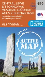 OS Explorer Active - 459 - Central Lewis & Stornaway