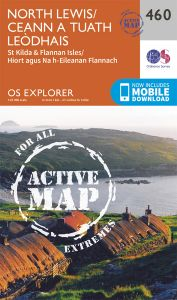 OS Explorer Active - 460 - North Lewis