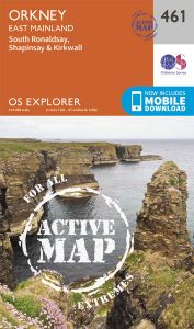 OS Explorer Active - 461 - Orkney - East Mainland