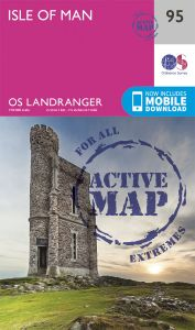 OS Landranger Active - 95 - Isle of Man