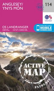 OS Landranger Active - 114 - Anglesey