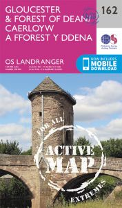 OS Landranger Active - 162 - Gloucester & Forest of Dean