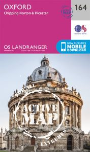 OS Landranger Active - 164 - Oxford, Chipping Norton & Bicester