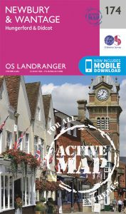 OS Landranger Active - 174 - Newbury & Wantage, Hungerford
