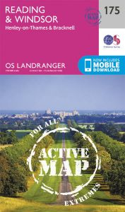 OS Landranger Active - 175 - Reading, Windsor, HenleyonThames