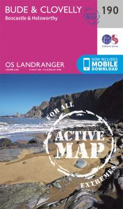 OS Landranger Active - 190 - Bude & Clovelly, Boscastle & Holsworthy