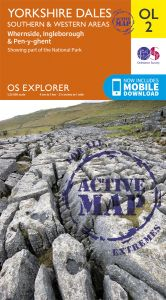 OS Explorer Active - 2 - Yorkshire Dales - Southern & Western