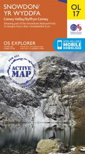 OS Explorer Active - 17 - Snowdon & Conwy Valley