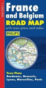 Philips Road Map Europe – France & Belgium