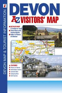 A-Z Visitor's Map - Devon